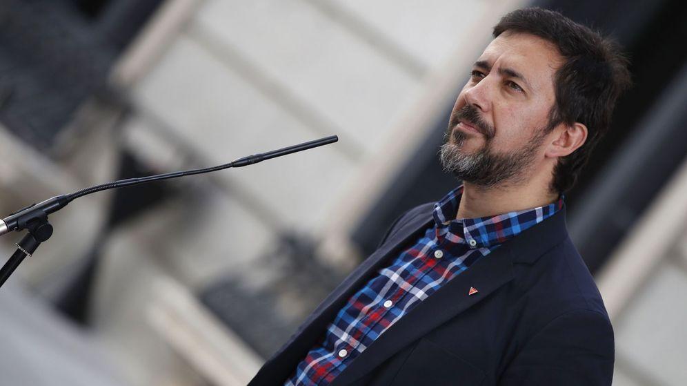 Foto: El diputado de Unidas Podemos y portavoz de la confluencia Galicia en Común, Antón Gómez-Reino. (EFE)