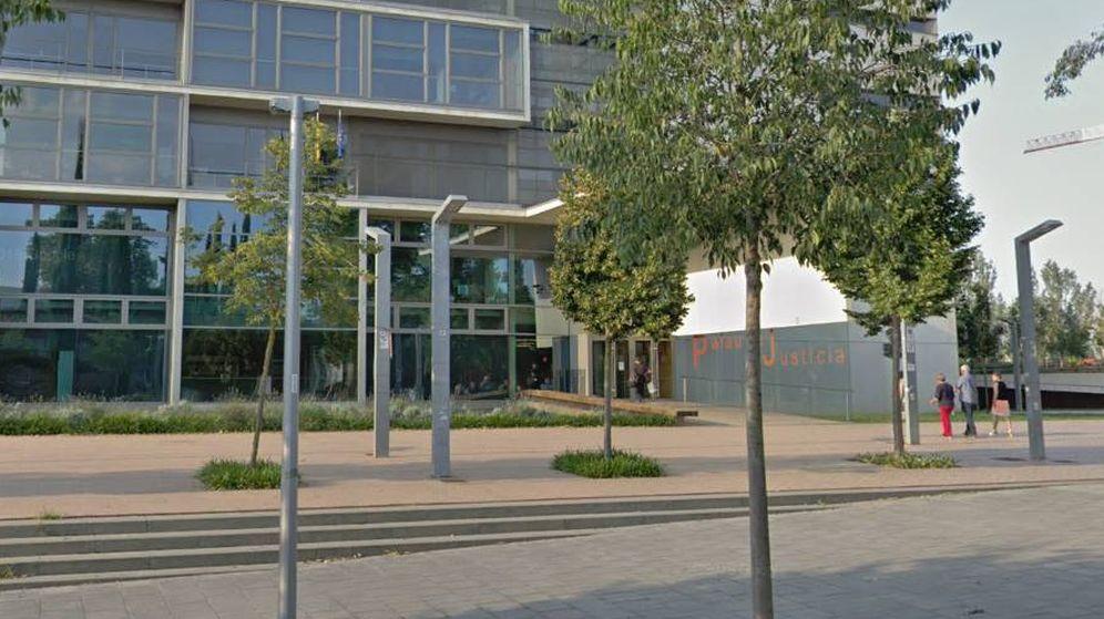 Foto: Entrada principal de la Audiencia de Girona (Google Maps)