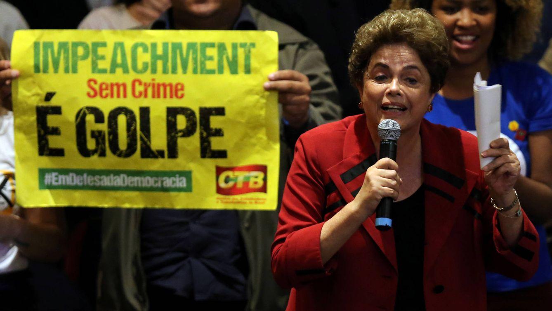 Foto: Dilma Rousseff, durante un evento con un movimiento ciudadano en contra del 'impeachment', en Sao Paulo, Brasil, el 23 de agosto de 2016. (Reuters)