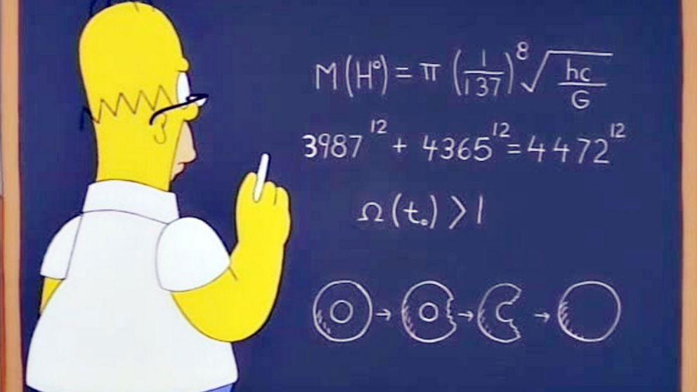 Los Simpson 'descubren' el bosón de Higgs antes de que los científicos