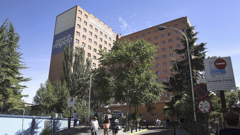 Foto: Fachada del Hospital Clínico de Valladolid. (EFE)