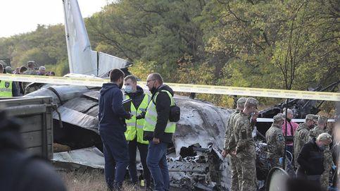 Mueren 26 personas en el accidente de un avión militar en Ucrania