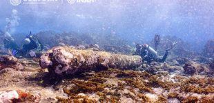 Post de México descubre un extraño naufragio de hace más de dos siglos entre sus corales