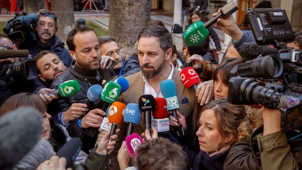 Abascal denuncia que las acciones contra Vox son cercanas al terrorismo callejero