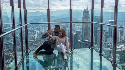 Acceso libre a los visitantes en la Torre Kuala Lumpur