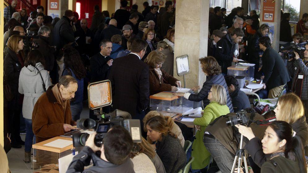 Foto: Colegios electorales en la jornada del 20-D