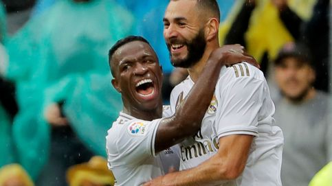 El esplendor de Benzema tampoco regatea el pesimismo del frágil Real Madrid