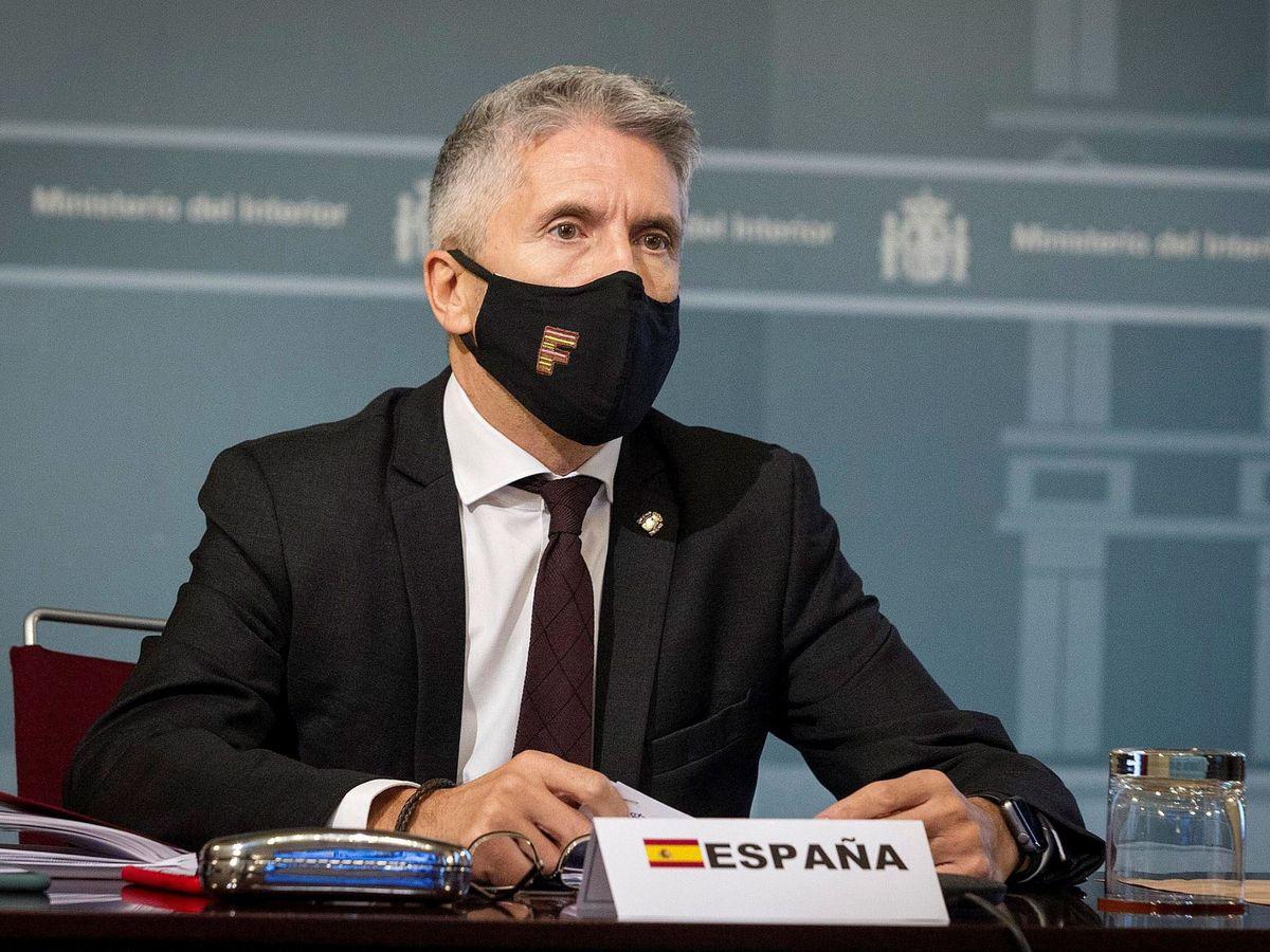 Foto: El ministro del Interior Fernando Grande Marlaska. (EFE)