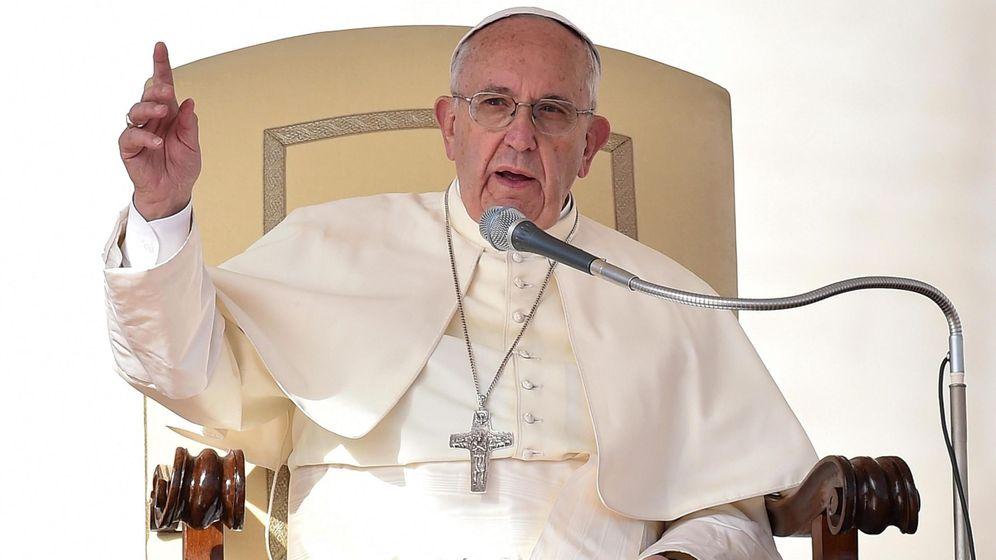 Foto: Audiencia general del Papa en la Plaza de San Pedro en el Vaticano.