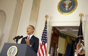 Obama: Esta vez la guerra no va a ser como en Irak o en Afganistán