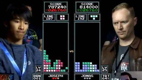 La final del Mundial de Tetris... que ganó un niño nacido 13 años después que el juego