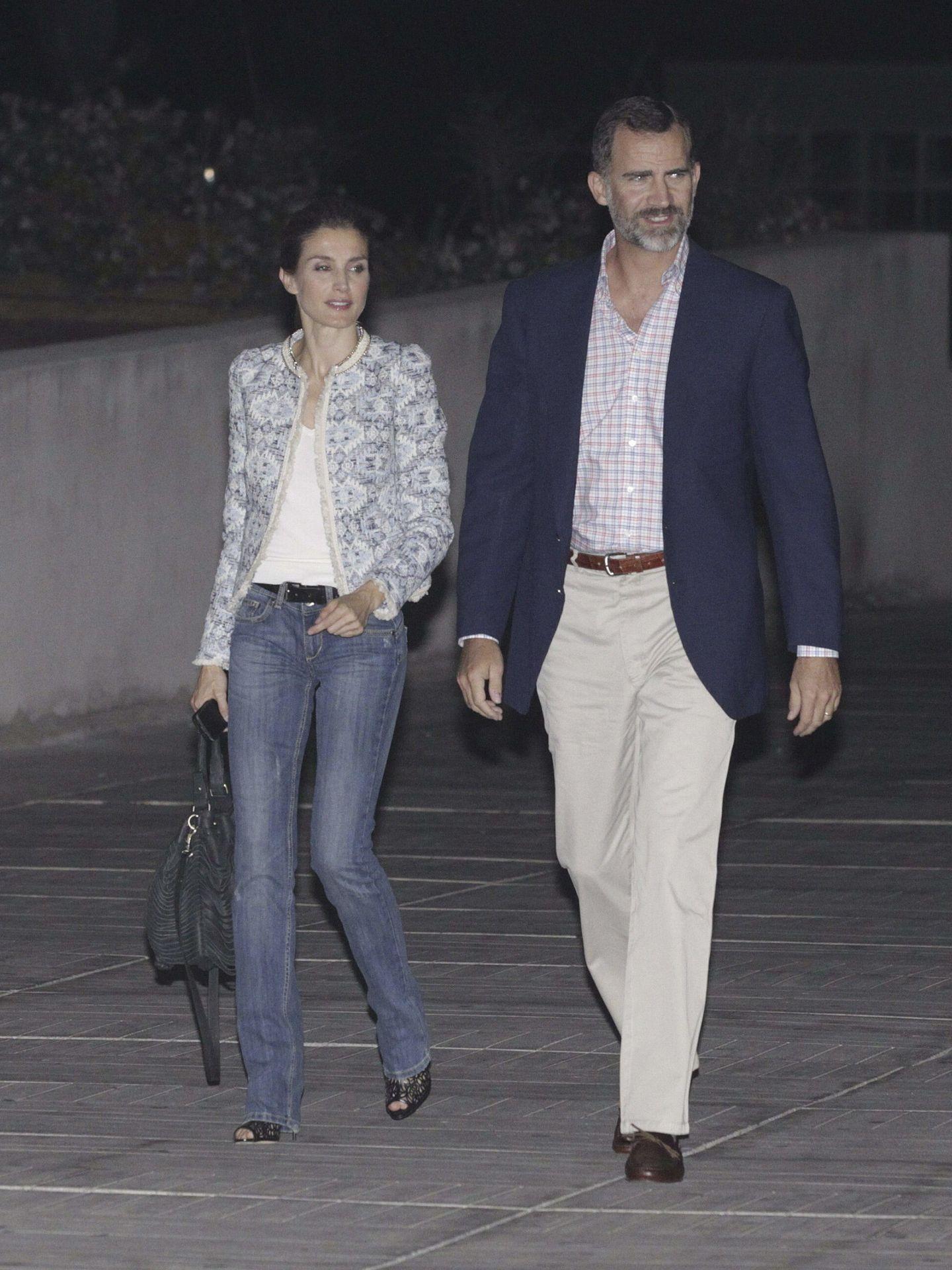 Felipe y Letizia en 2013 cuando todavía eran príncipes. (EFE)
