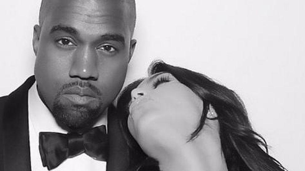 Kanye West saca su lado romántico y tierno gracias a Kim Kardashian y North