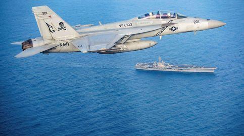 Portaaviones, guerra electrónica y cazas F-35: el arsenal de EEUU que puede devastar Irán