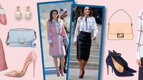 Esto es lo que cuesta la maleta que la reina Rania se ha traído a España