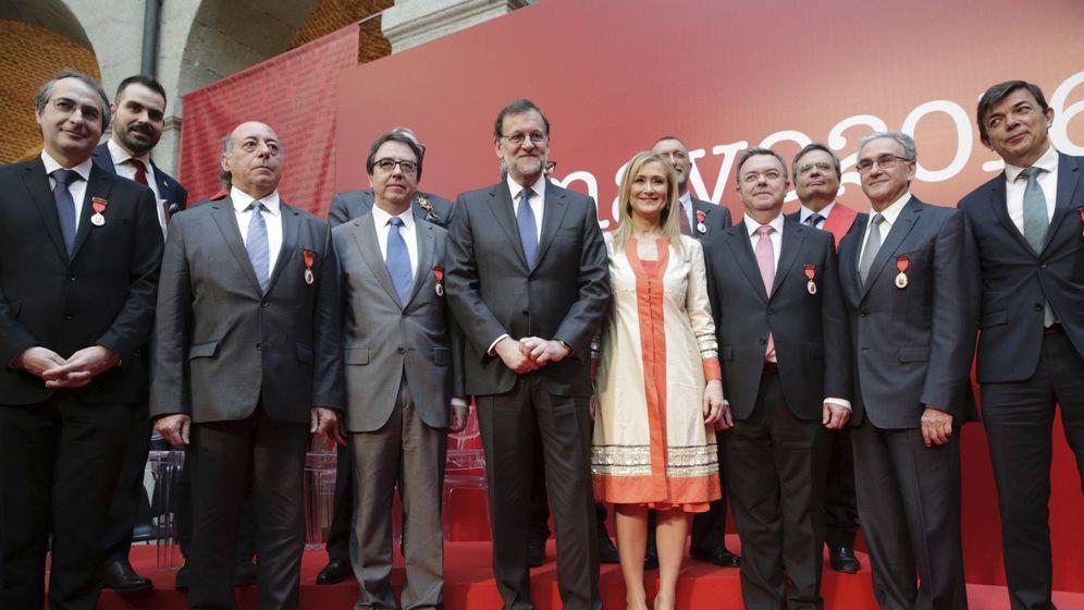 Foto: El primer Dos de Mayo de Cifuentes reúne a Aguirre, Gallardón, Carmena, Rivera, Rajoy...