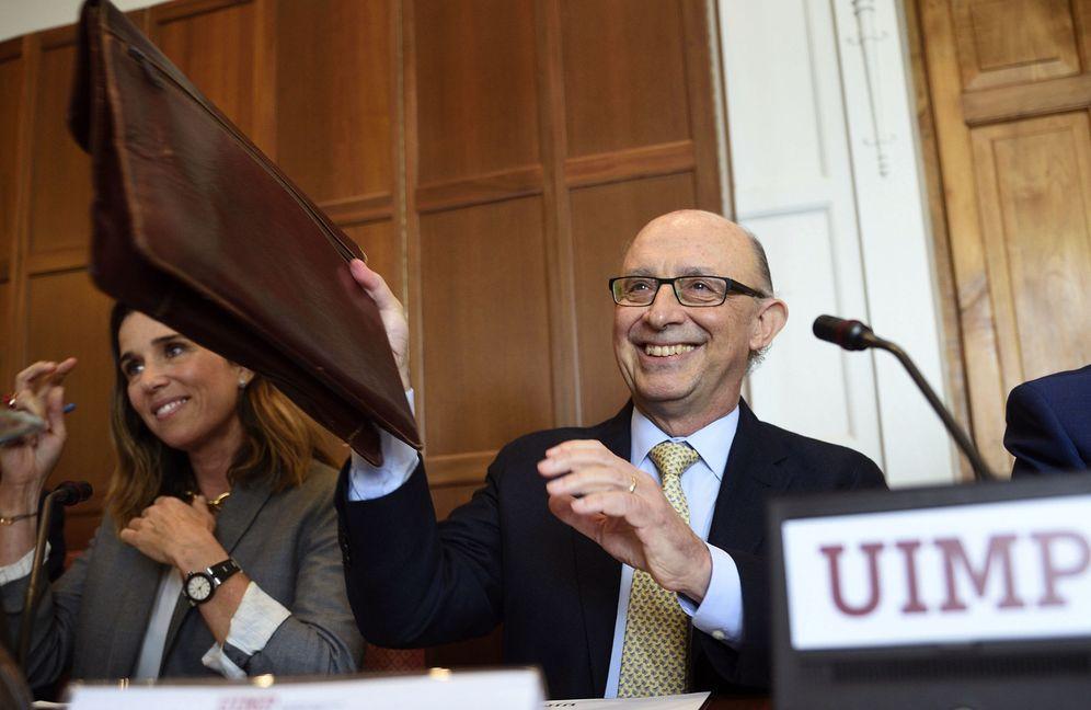 Foto: El ministro de Hacienda y Administraciones Públicas en funciones, Carlos Sánchez. (EFE)