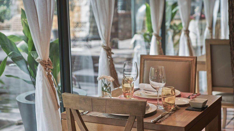 Sentarse a la mesa de este restaurante es un lujo (muy natural)