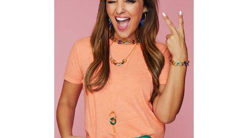 Paula Echevarría lleva como nadie la colección más colorida de joyas de Tous