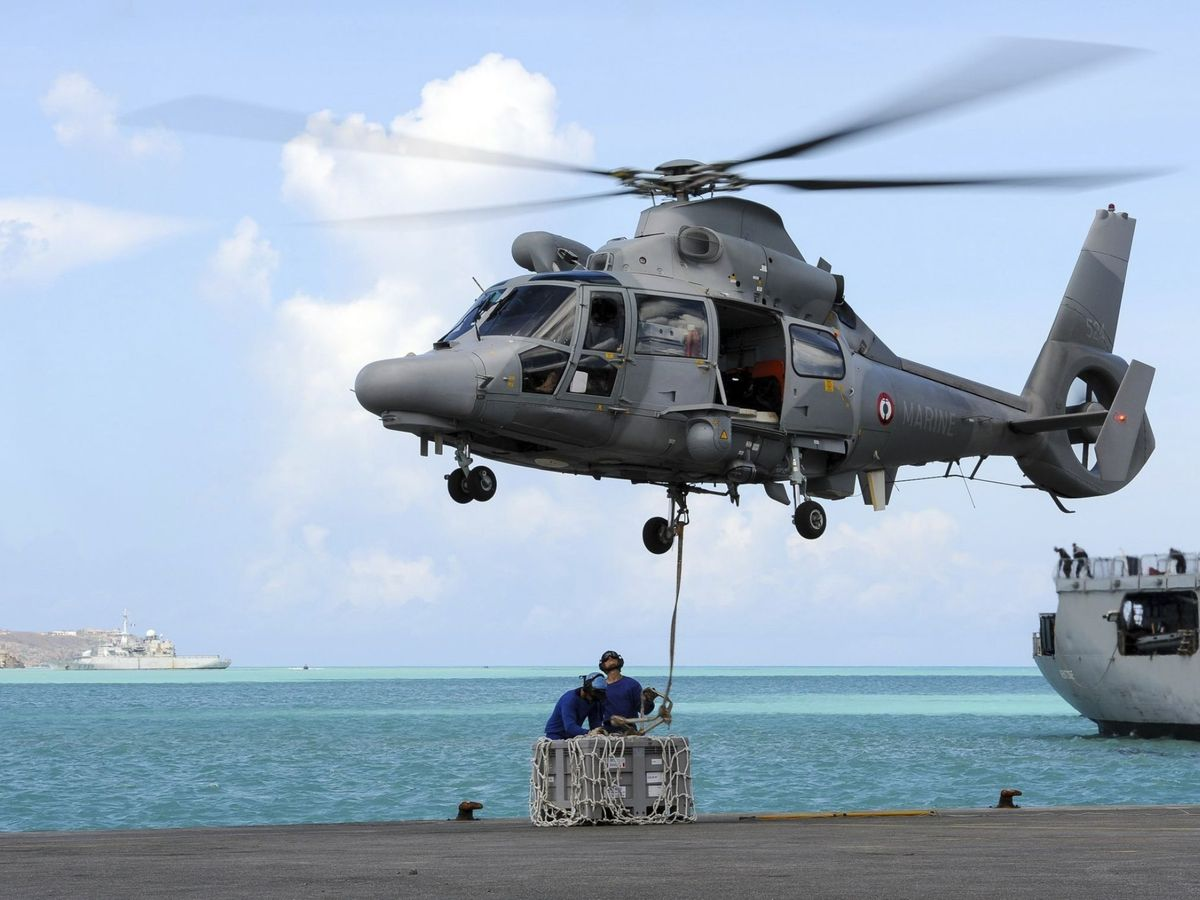 Foto: Foto de archivo de un helicóptero del ejército francés. (EFE)