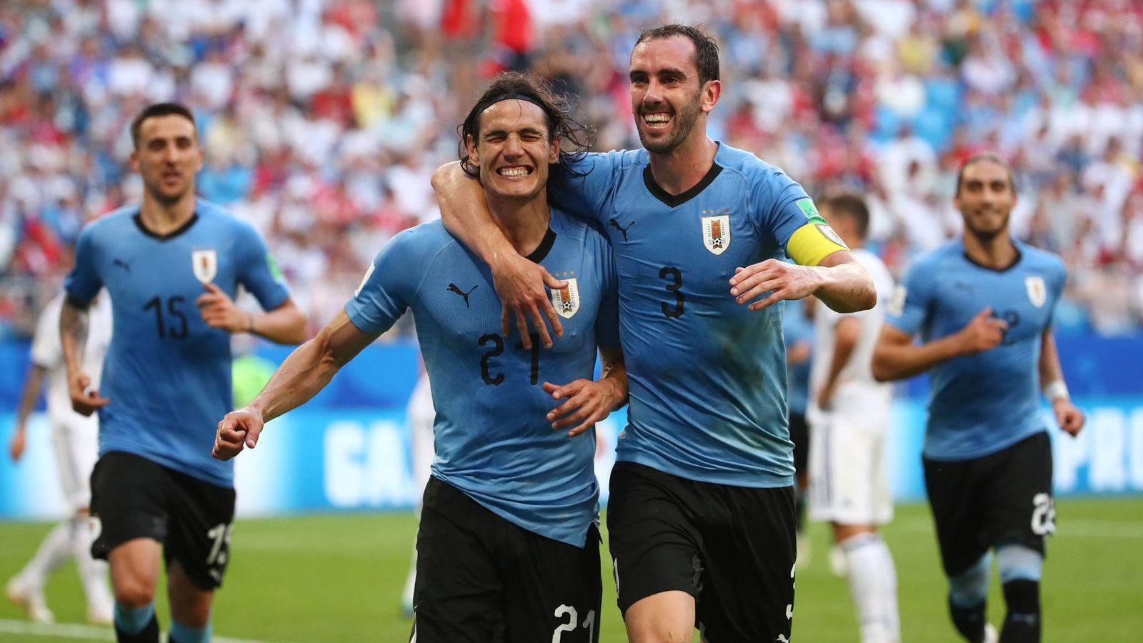 Foto: World cup - group a - uruguay vs russia