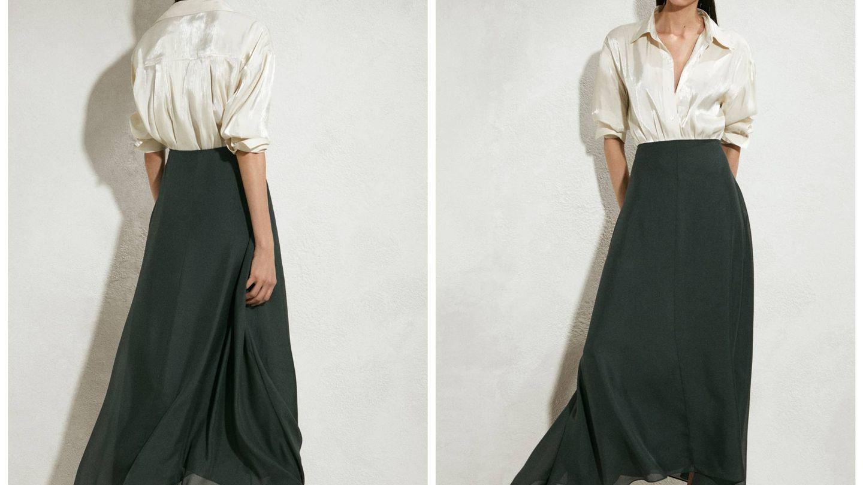 Nueva falda de Massimo Dutti. (Cortesía)
