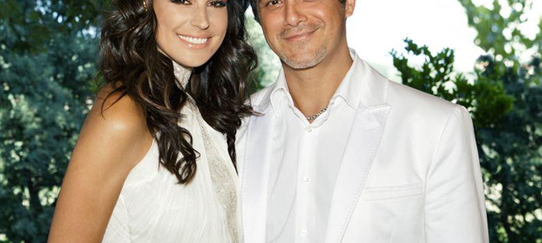 Foto: Alejandoro Sanz y Raquel Perera el día de su boda en mayo de 2012. (I.C.)