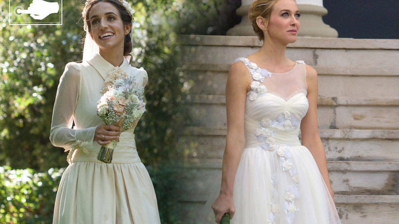 Marta Hazas vs. Adriana Marín ¿cuál ha sido la novia más bella del fin de semana?