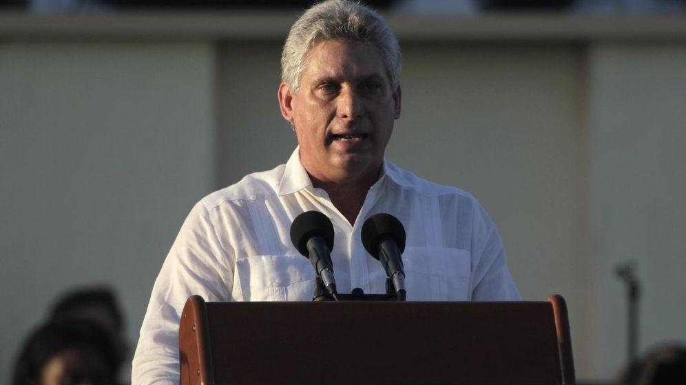 Foto: Miguel Díaz-Canel, hasta ahora vicepresidente de Cuba, durante la celebración del 55º aniversario de la Revolución cubana en La Habana, en enero de 2014. (Reuters)