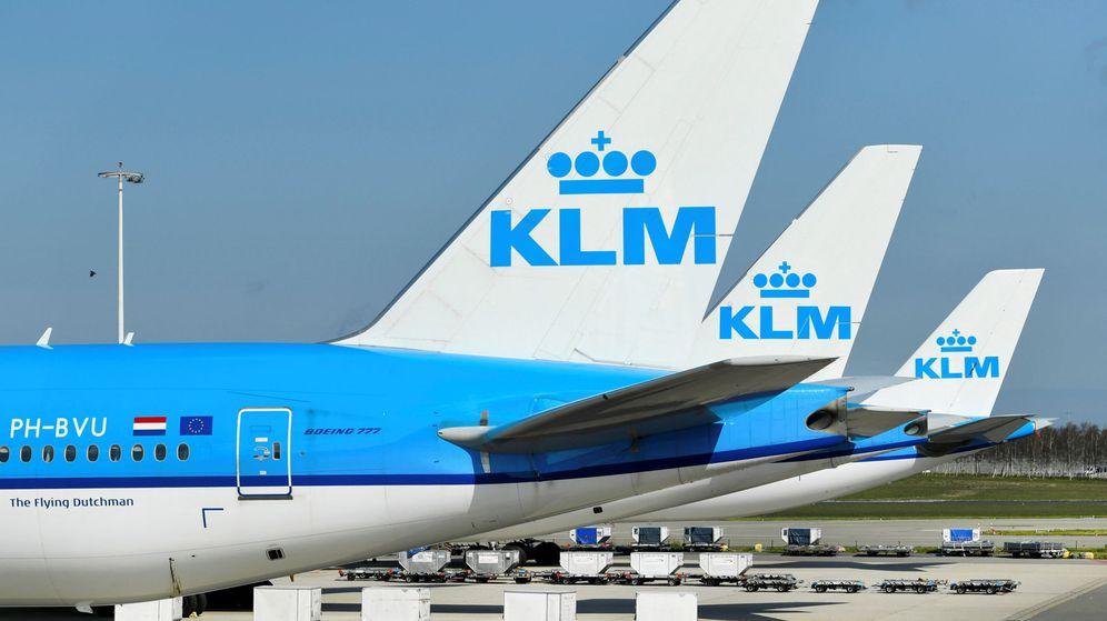 Foto: Aviones de KLM (Reuters)