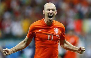 Robben, el gran líder 'oranje' que  quiere olvidar su obsesión con Iker
