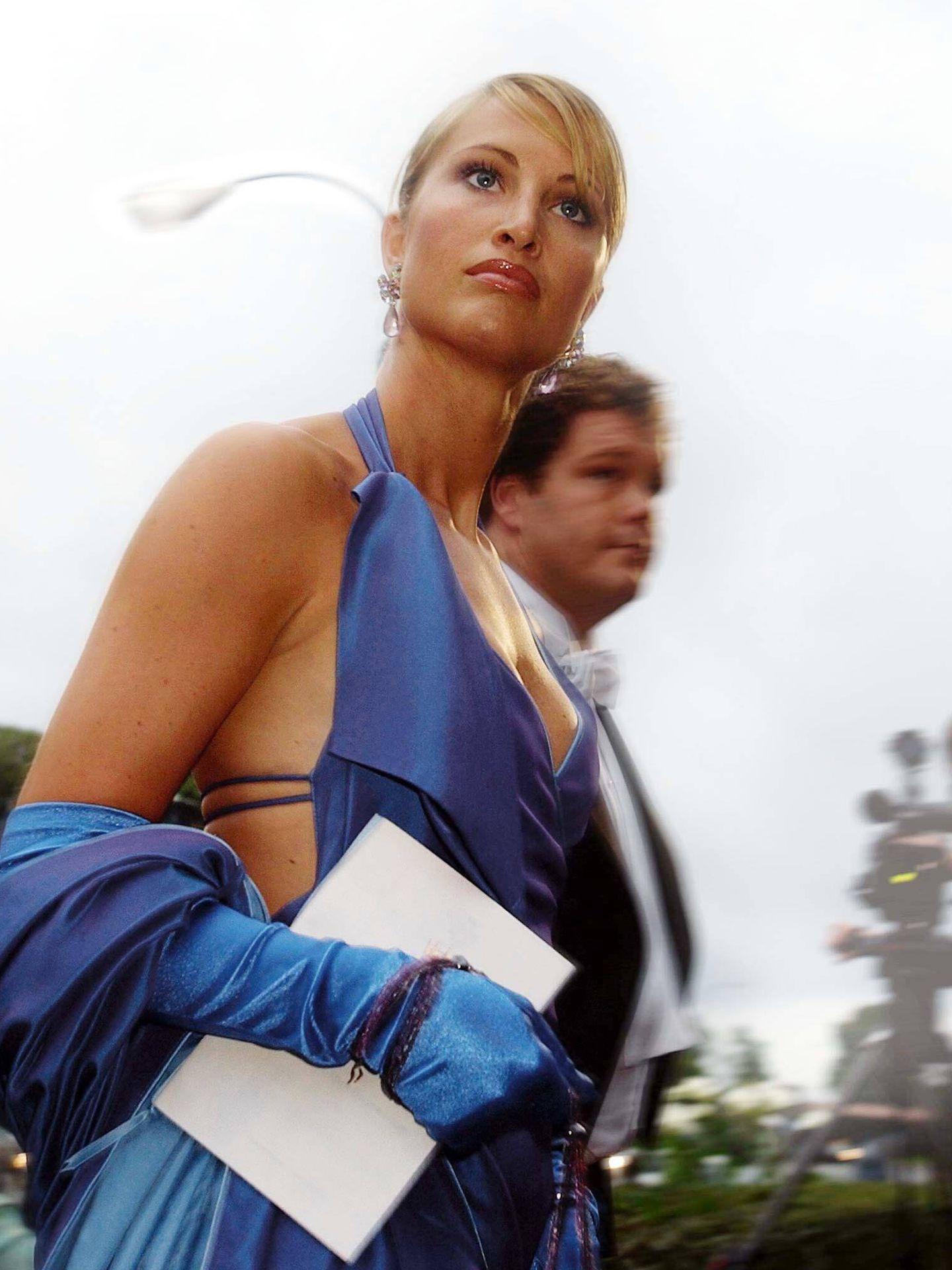 Eva Sannum, en la boda de Mette-Marit. (Getty)