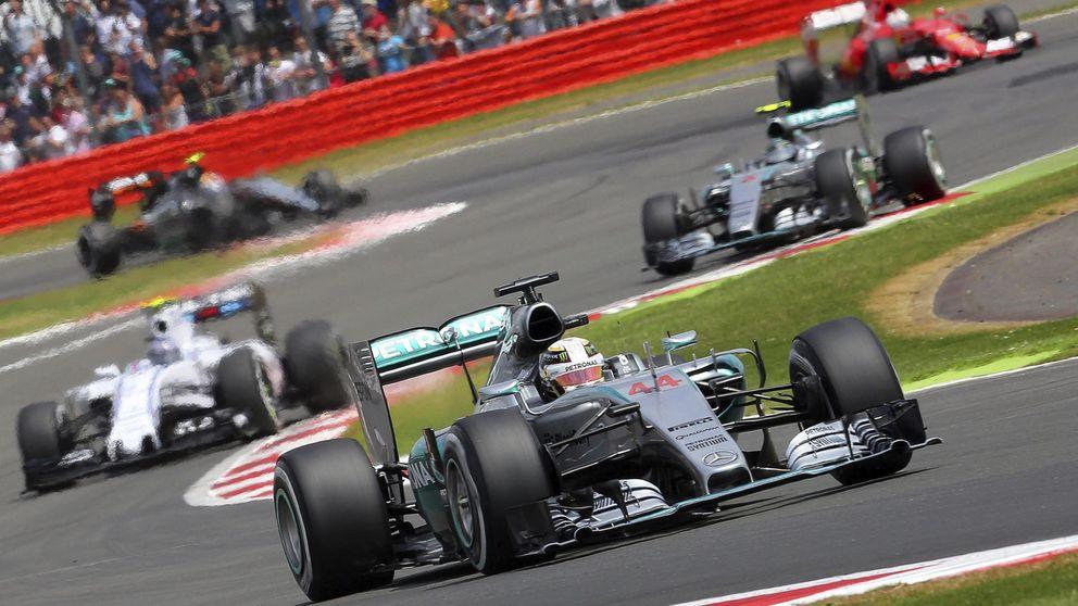 Parece mentira: la gran lección que recibió la Fórmula 1 en Silverstone