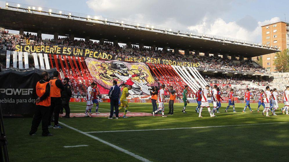 Foto: Estadio del Rayo Vallecano.