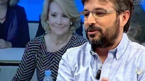 Jordi Évole se la devuelve a Esperanza Aguirre por su desplante en 'Salvados'