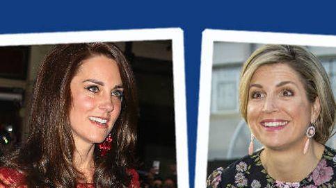 Estilo Real: la alegoría a la primavera de Máxima y el look glamouroso de Kate