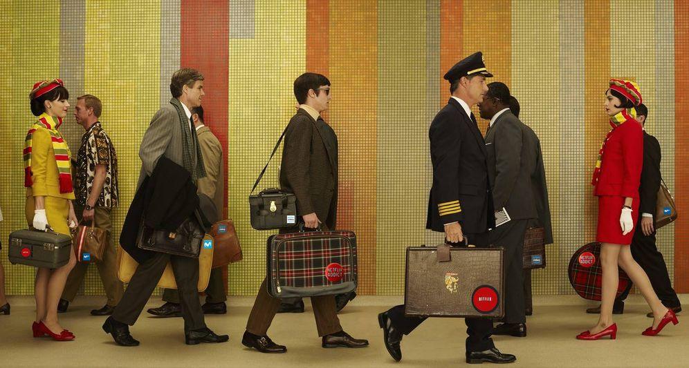 Foto: Atasco en el aeropuerto