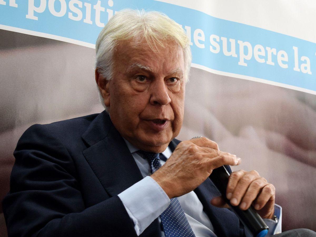 Foto: El expresidente del Gobierno español Felipe González, en Colombia. (EFE)