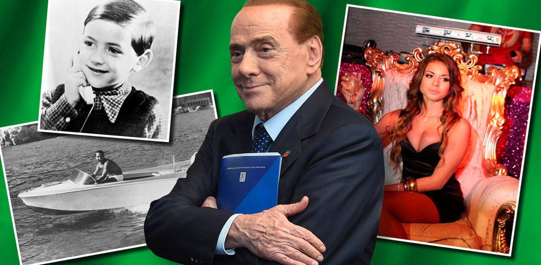 Foto: Silvio Berlusconi en un fotomontaje realizado por Vanitatis