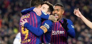 Post de Unos minutos de Messi (y un VAR favorable) valen para que el Barça gane al Leganés