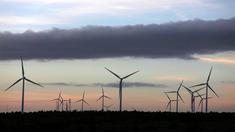 Imagen de archivo de un parque eólico. (EFE)