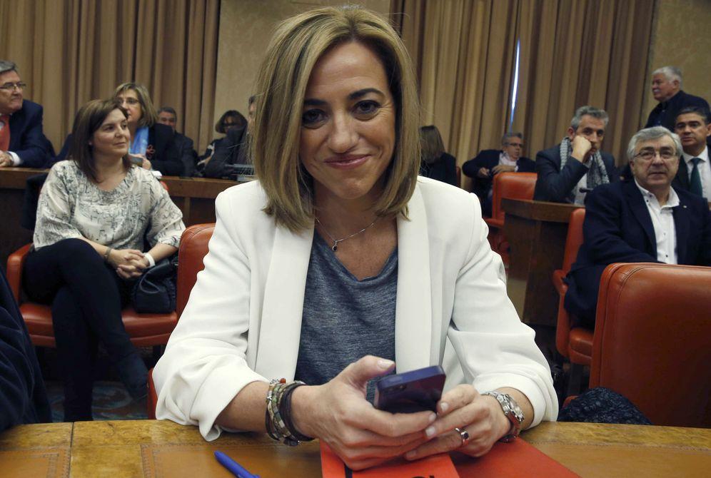 Foto: La exministra de Defensa, Carme Chacón. (EFE)