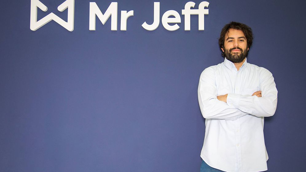 Foto: Eloi Gómez es el cofundador y CEO de Mr Jeff.