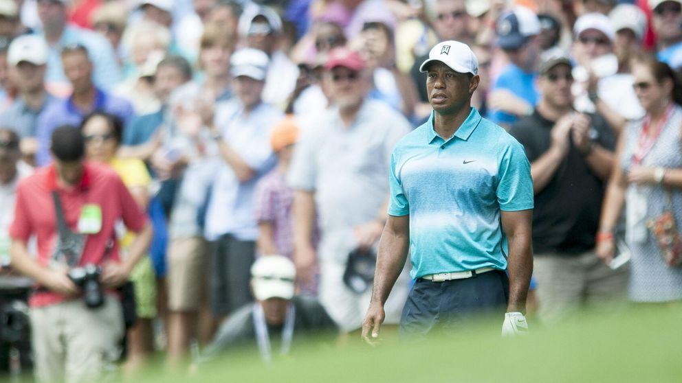 Tiger sacó cada una de sus diez garras, pero se cayó de la lucha por la victoria