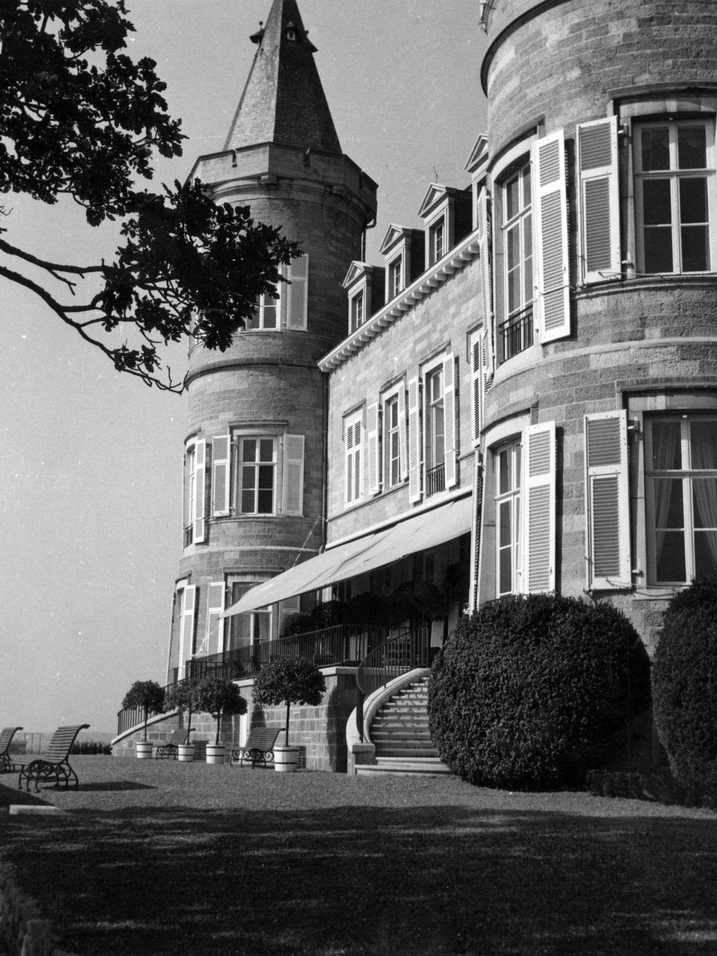 El castillo de Ciergnon. (Cordon Press)