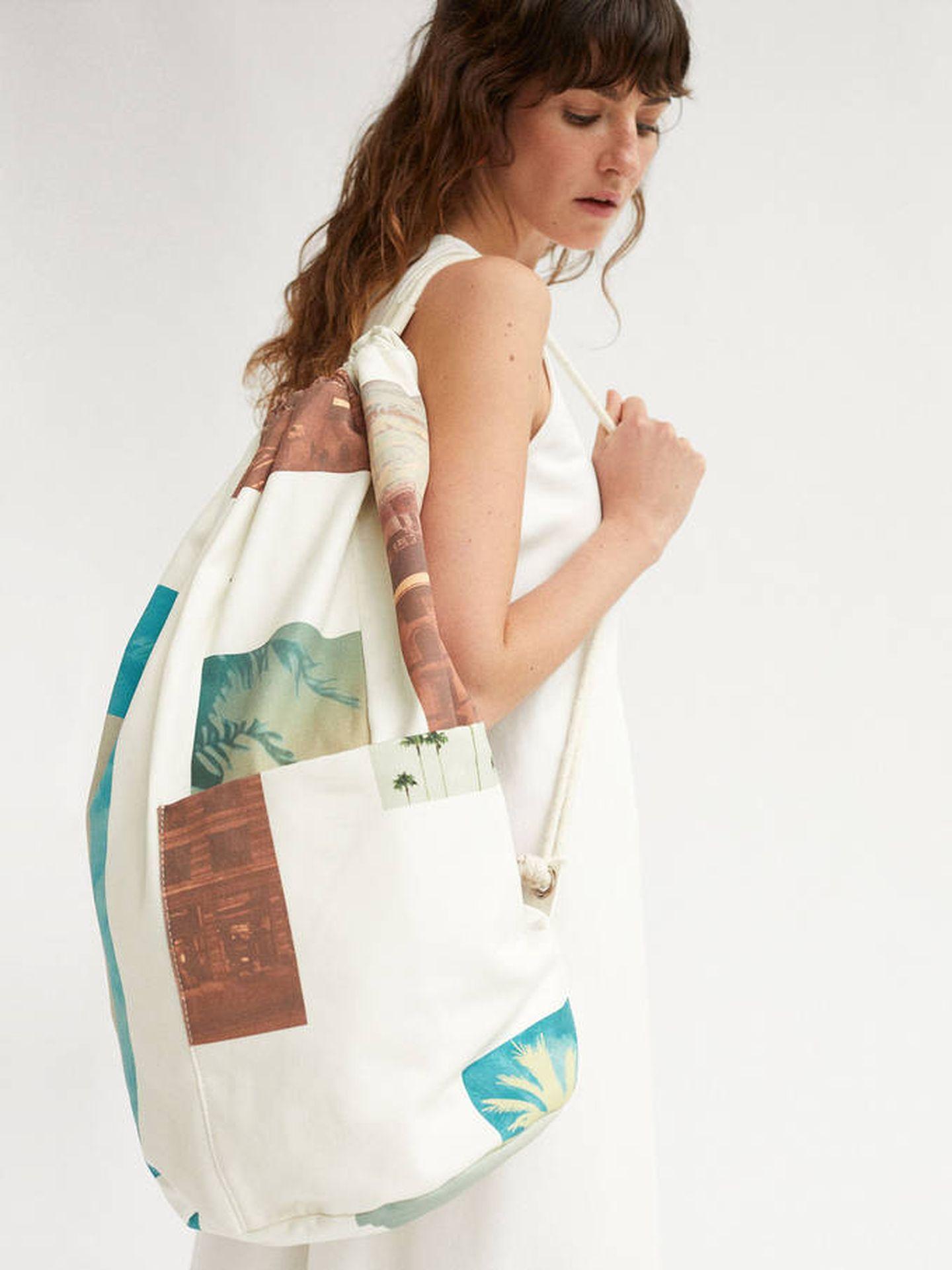 El bolso saco de Parfois. (Cortesía)