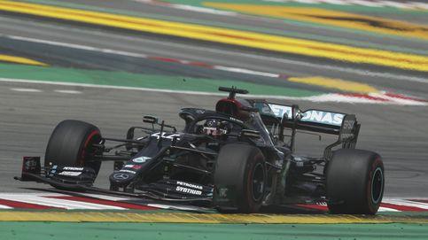 Libres 2: Mercedes manda en España y diez pilotos acaban en cuatro décimas