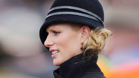 Zara Phillips, la 'royal' embarazada  en la boda de Harry y Meghan