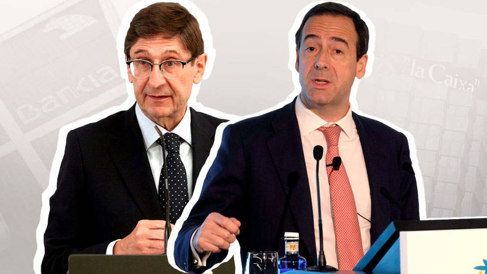 CaixaBank y Bankia estudian una fusión inminente para reforzarse ante el covid