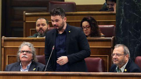 Rufián reta a Iglesias a presionar a Sánchez para que libere a 9 demócratas en prisión